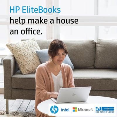 HP EliteBook help make a house an office v3-1